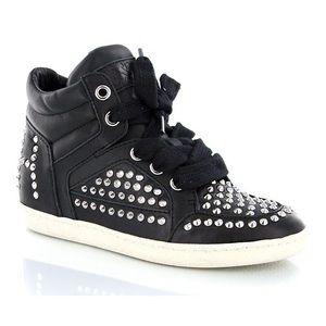 Ash Zest Bis Studded Black Sneakers